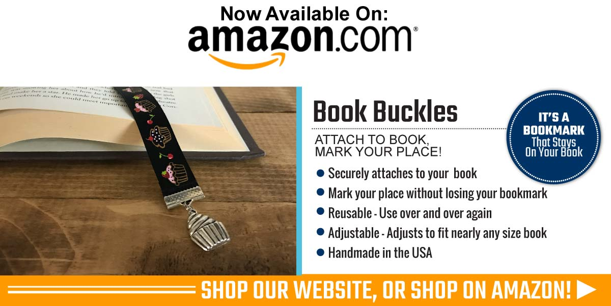 Book Buckles Bookmark Now On Amazon