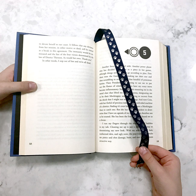 Ready-to-Use- Use the Journal-like bookmarker to mark your place