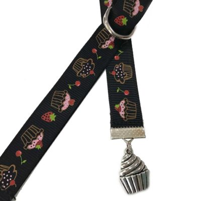 Cupcake Bookmarks with Charm - Book Buckles